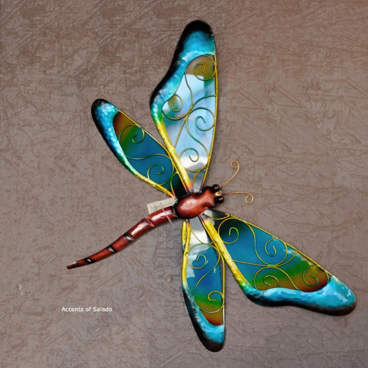 Outdoor Wall Decor Dragonfly : Dragonfly wall d?cor