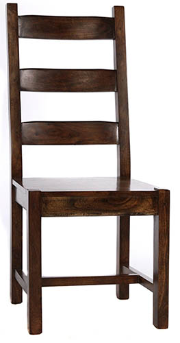8 Ladder Back All Wood Chair