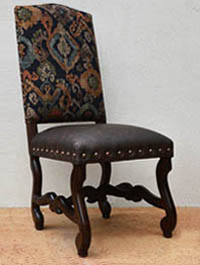 Adele Arm Chair Genuine Leather Dark Seat