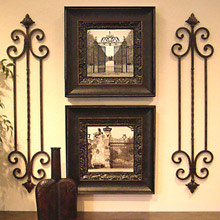 Vertical Wall Decor tall vertical wall grille