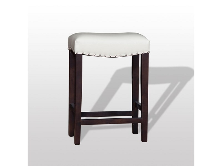 White Counter-Stool