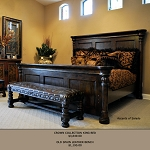 Crown Collection King Bed