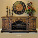 Sonoma Buffet - Torched Brown