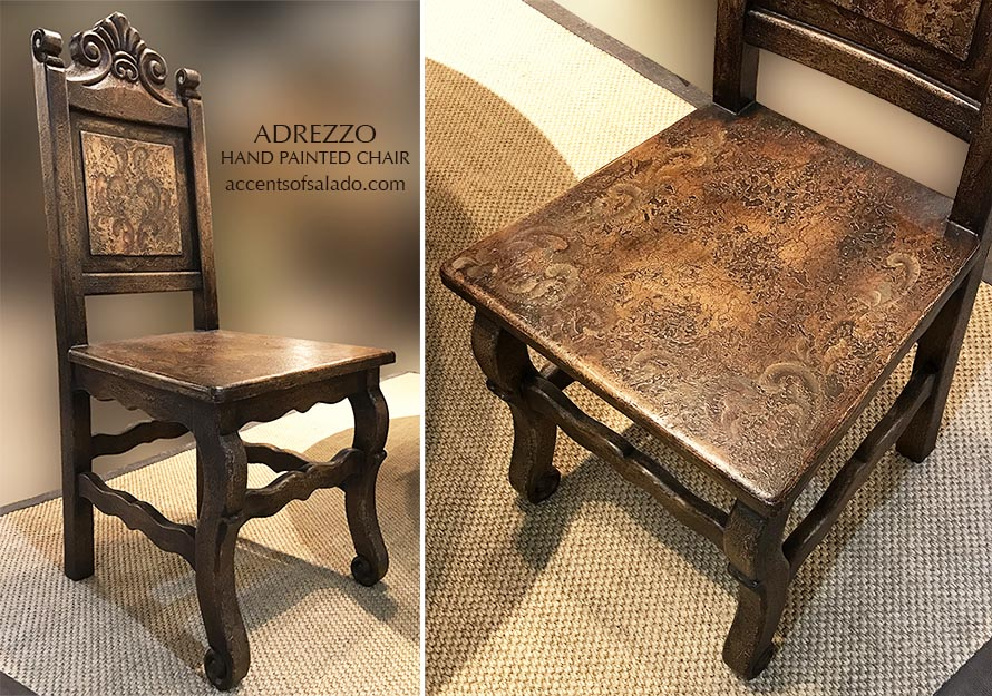 Adrezzo Cabinet and 4 Chairs