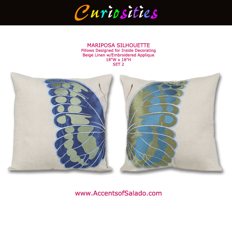 Mariposa Pillow Set 2