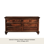 Islands 8 Drawer Dresser  RD