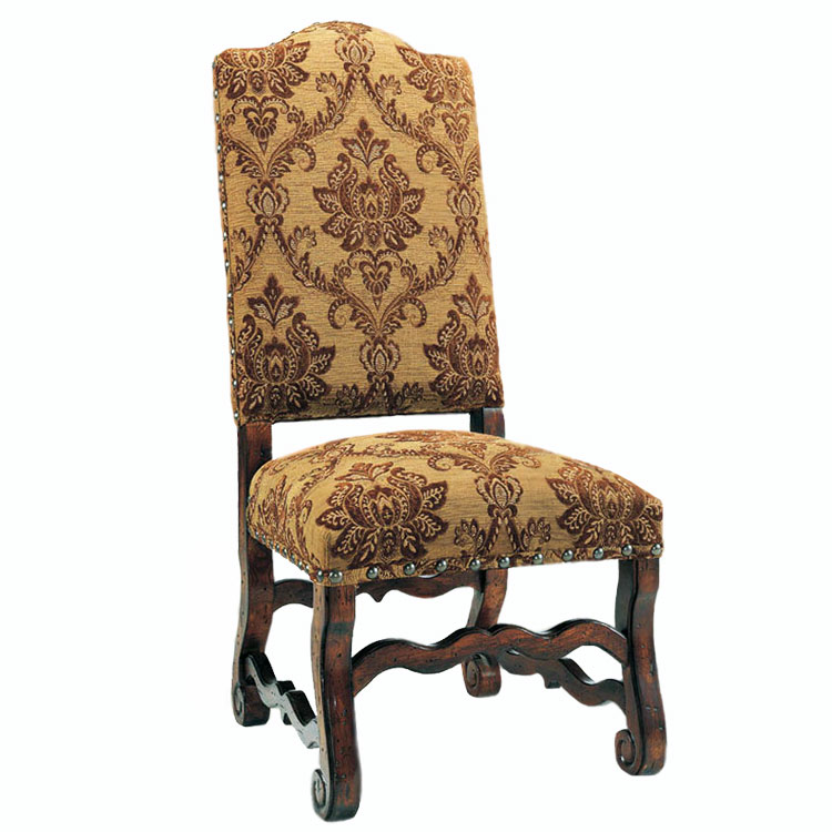 Clearance- Brown Spice Side Chair