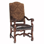 Dark Chocolate Arm Chair