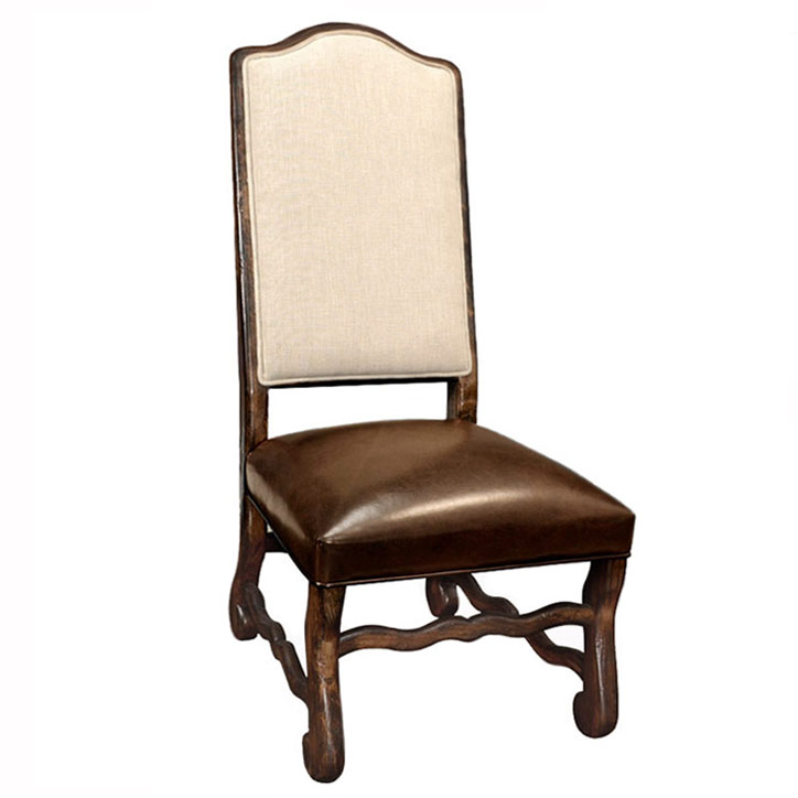 Grand Italiano Linen Side Chair