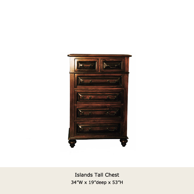 Islands Collection Tall Chest