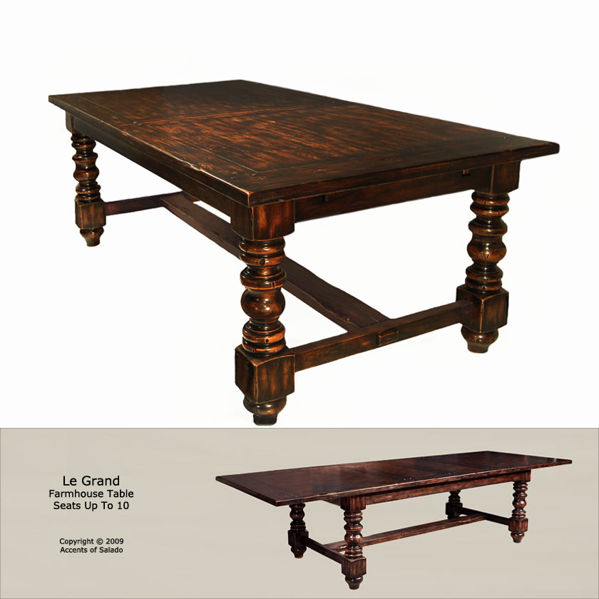 Le Grand Farmhouse Table