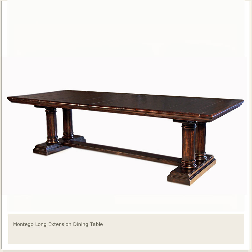 Home Furniture Dining Tables Montego Extra Long Dining Table