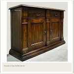Toscana 2 Door Buffet Server