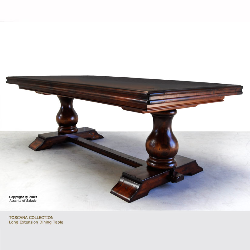 Home Furniture Dining Tables Toscana Extra Long Dining Table