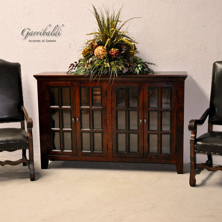 Garribaldi glass front buffet for Sideboard glasfront