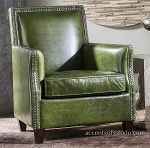 Coastal Living - Olive Green Club Chair
