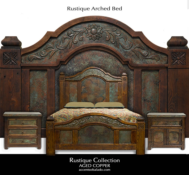 Rustique collection rustic old world bedroom furniture for Old world furniture