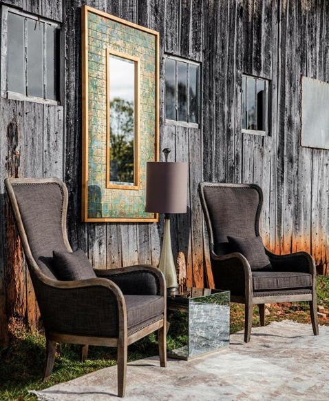 Smokey Accent Chair