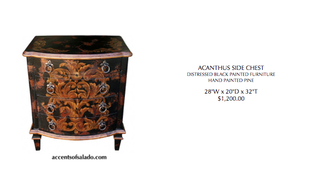 Acanthus Side Chest- Special Order 120 days