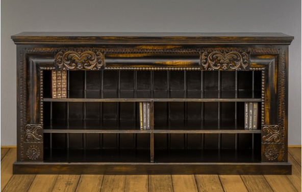Hand Carved Media Center/ Buffet