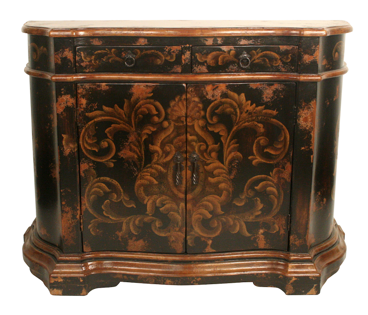 Home Hand Painted Furniture Old World Buffet
