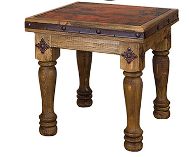 Copper Canyon Side Table