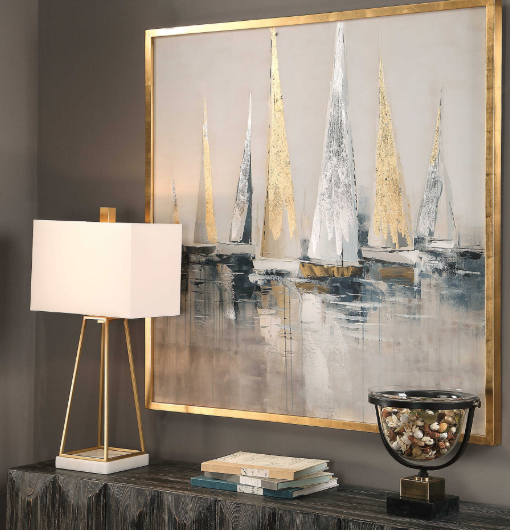Coastal Living - Sailing with Friends Wall Art