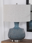 Coastal Living - Lamp Set 2 - Coastal Blue Glazed
