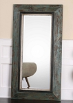 Coastal Living - Weathered Teal Floor Mirror