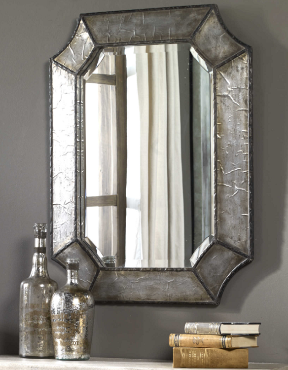 Distressed Vanity Mirror