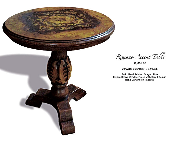 Romano Side Table