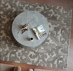 Gray Hand Tufted Wool Rug