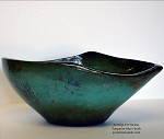 Antiquity Large Decorative Bowl Turquoise