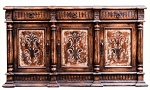Maria Old World Hand Painted Buffet
