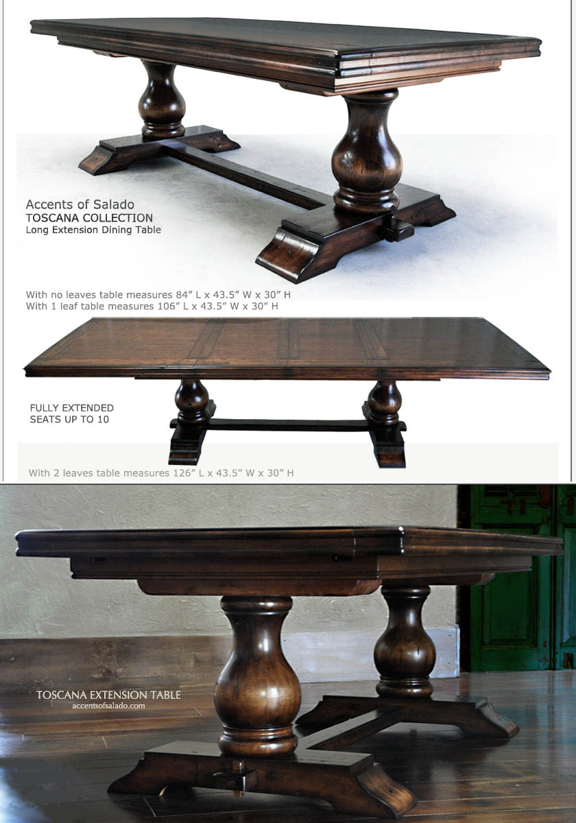 Toscana Dining Table Order