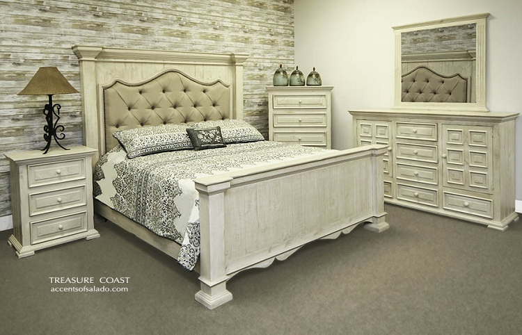 Customer Order TC Bedroom - Queen Bed, NS and Highboy - 76712