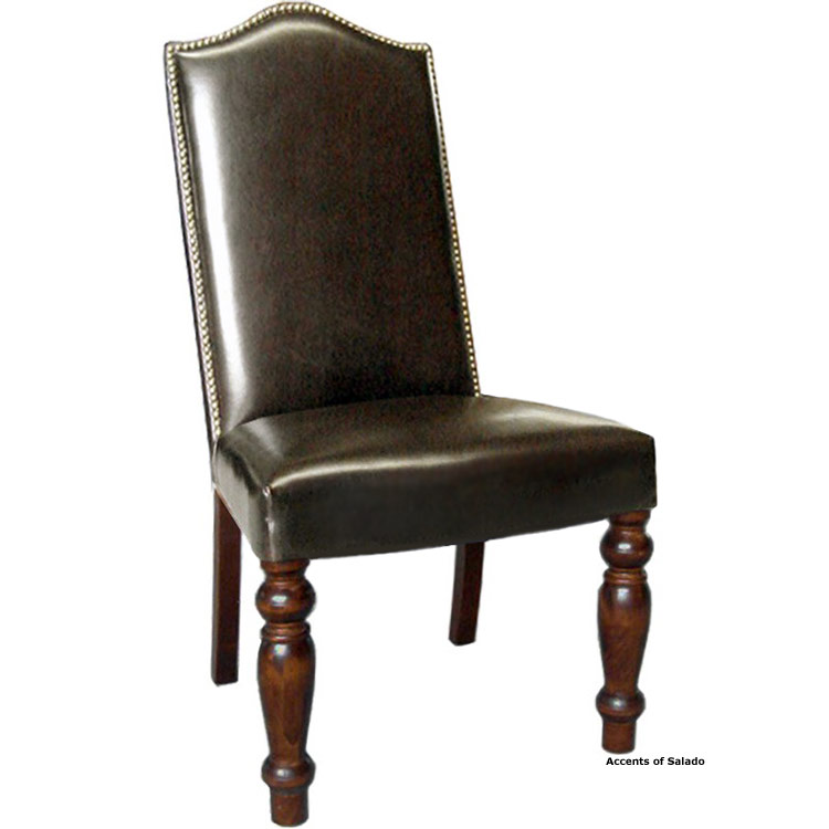 Verona Re-Cast Leather Dining Chair