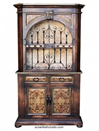Adrezzo Tall Gated Cabinet - Special Order 120 days- 27613