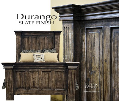 Durango Collection - Old World Tuscan, Hacienda and Southwest Bedroom Furniture