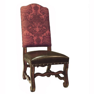 Dining room furnitureblack ascot dining side chair leather parsons chairs - Leather parsons dining room chairs ...