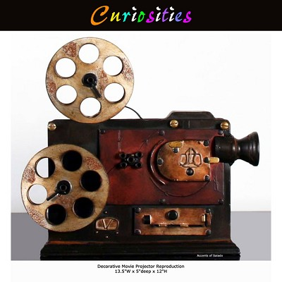 Decorative Movie Projector Reproduction