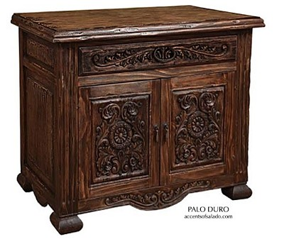 Palo Duro Queen Bed and Night Stands