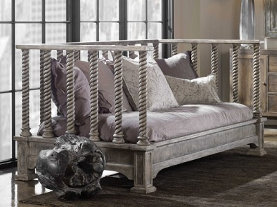 Coastal Living - Hand Carved Daybed