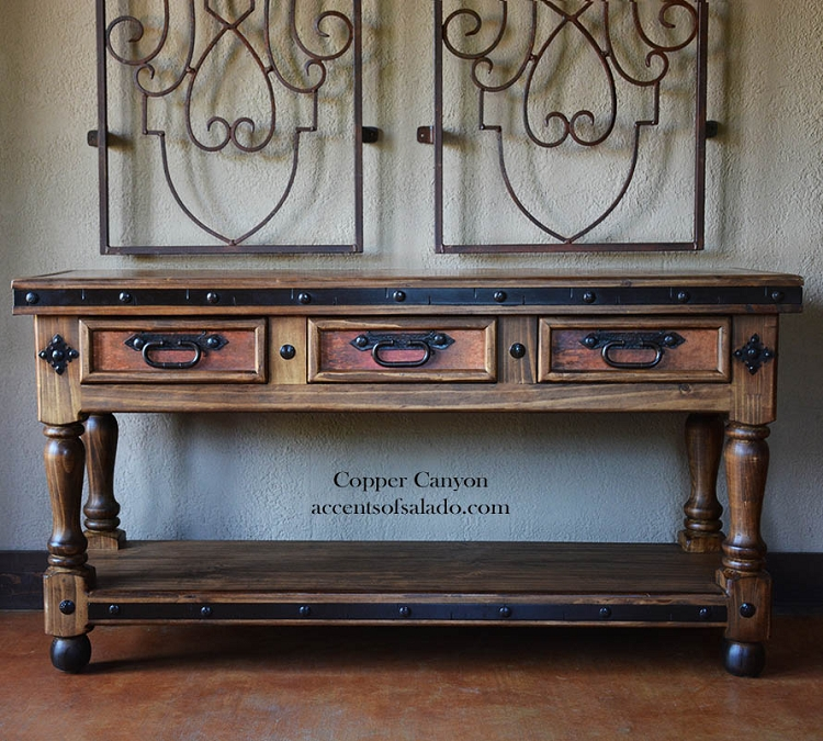 Copper Canyon Console Table